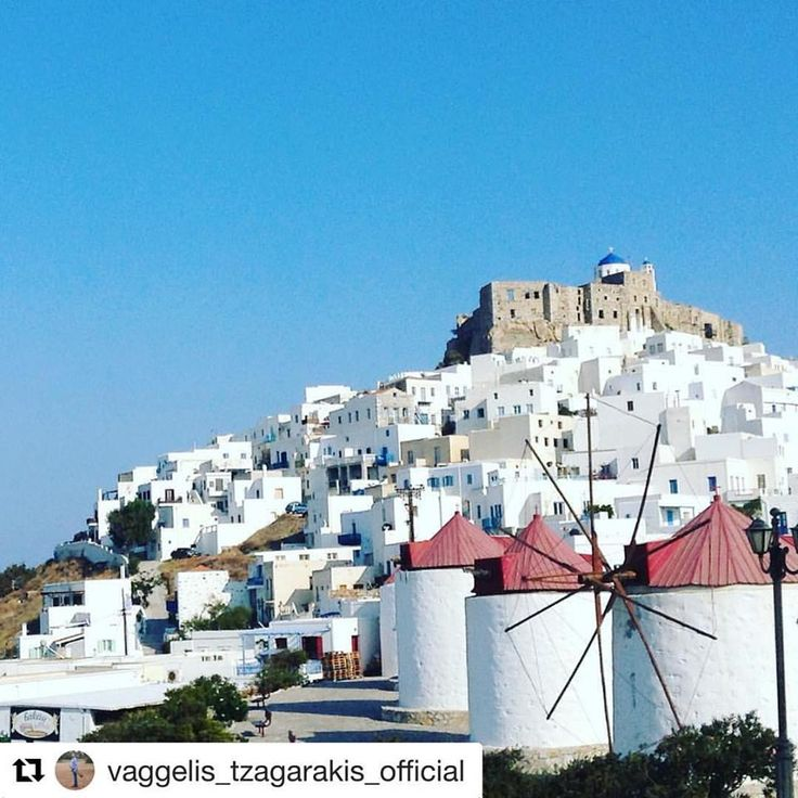Beautiful Chora! #astypalaia #greece #travel