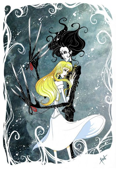 This looked cool. I actually have yet  see Edward Scissorhands in its entirety. I need to fix this.