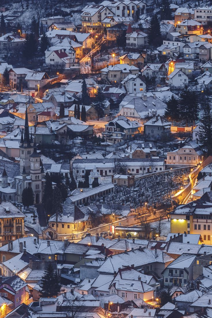 Beautiful winter in Brasov! Iarna de poveste in Brasov! #winter #brasov #citiesofromania #haisitu www.haisitu.ro