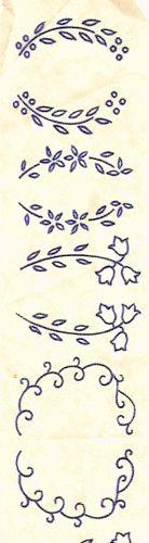 Flower sprigs by Littlelixie, via Flickr   embroidery idea