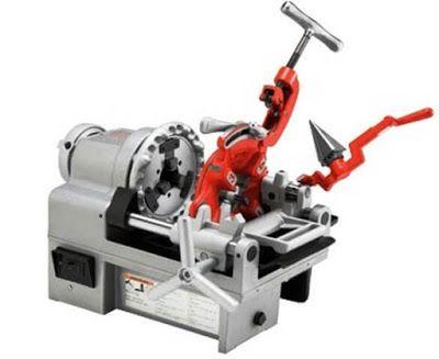 tipe mesin drat pipa, harga mesin drat pipa besi
