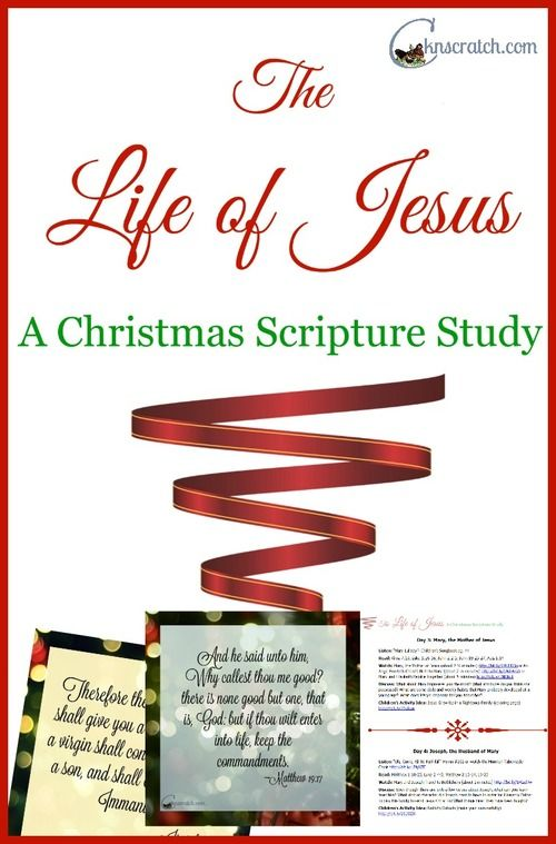 This is a great scripture study study! Definitely perfect for keeping the focus on Christ this Christmas!