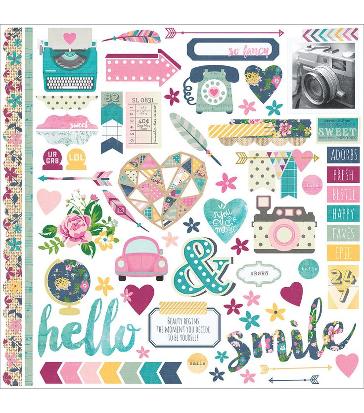 Simple Stories So Fancy Cardstock Stickers-Fundamentals