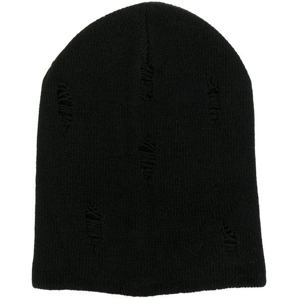 Dondup classic beanie (68 CAD) ❤ liked on Polyvore featuring men's fashion, men's accessories, men's hats, black and mens beanie hats