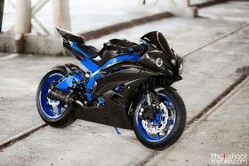 Yamaha r6 2007 custom. What a beauty