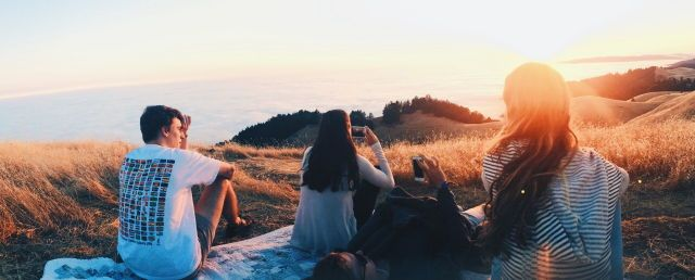find friends who will watch sunsets and sunrises w you.
