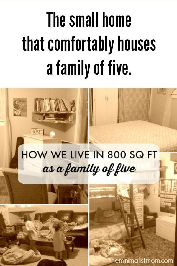 The 800 Sq Ft House That Comfortably Houses A Family Of Five Tiny House For Big Family Small House Living Tiny House Family