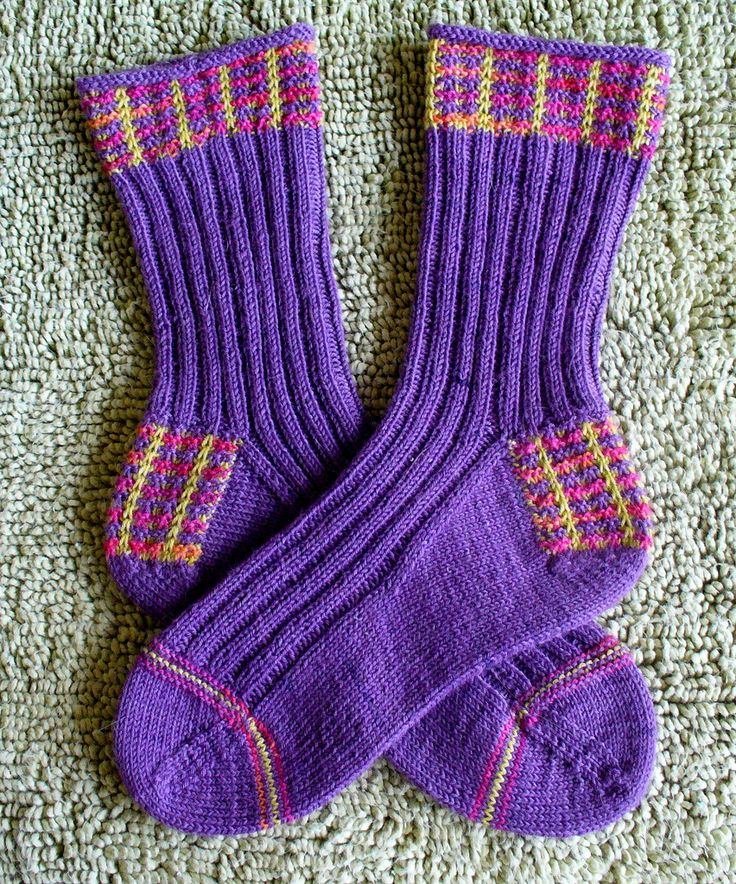 Ravelry: Mad About Plaid Socks pattern by fkd designs