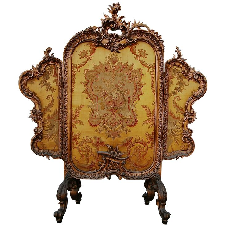 french fireplace screens. Antique French Carved Giltwood Tapestry Tripartite Fire Screen 49 best Fireplace screens images on Pinterest