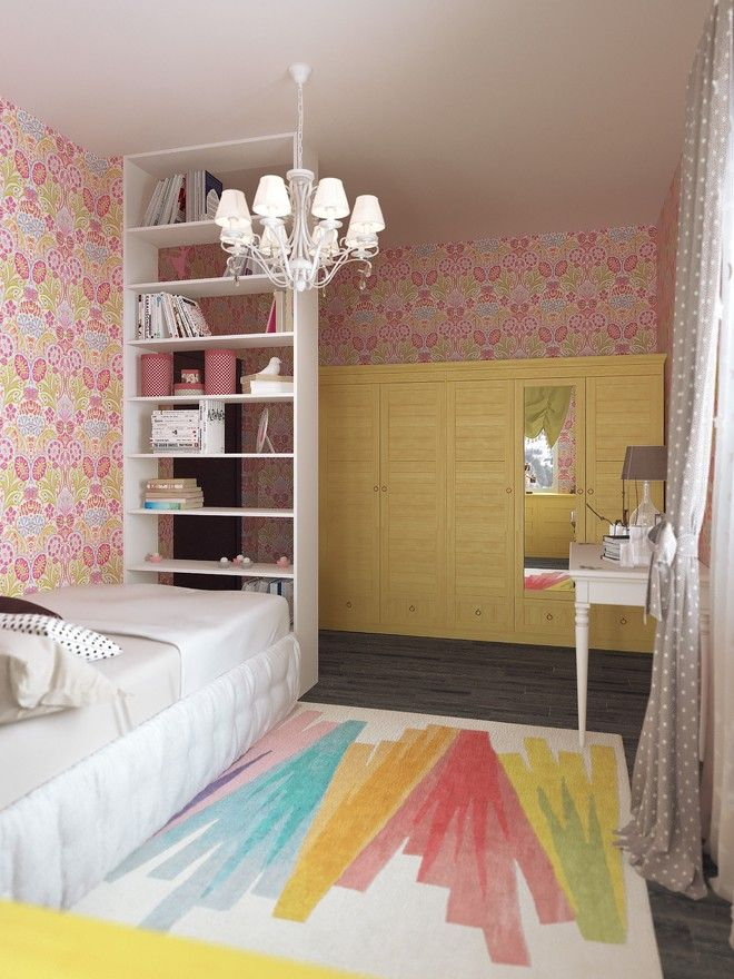 Детская комната. Таунхаус в стиле эклектики, ЖК «Небо», 180 кв.м.