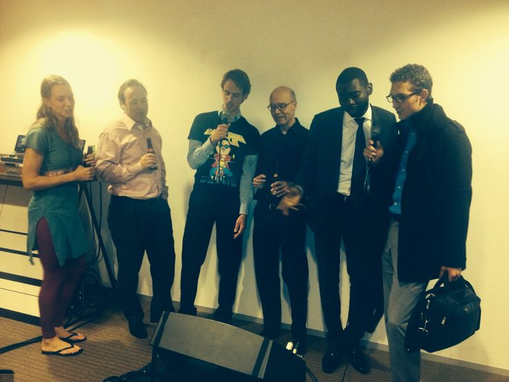 Karaoke stars in the Investment Office