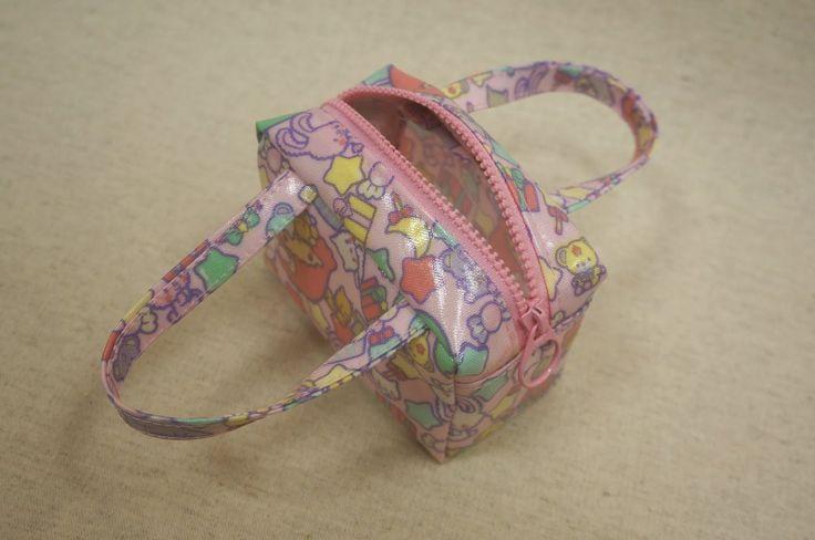 清秀佳人布坊 - 手作教學 - 拉鍊立體小提袋的作法