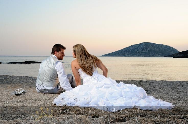 Ροντικές φωτογραφίες γάμου στην παραλία! #weddingphotography