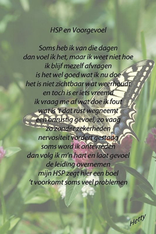 HSP en Voorgevoel #hsp #sensitief #gevoelig #voorgevoel http://thuisinmijnlichaam.nl/
