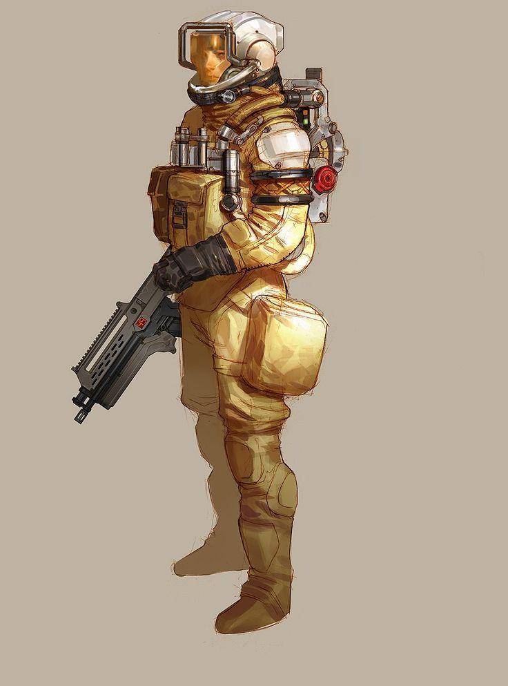 another cool space suit idea | Concept | Female | Pinterest