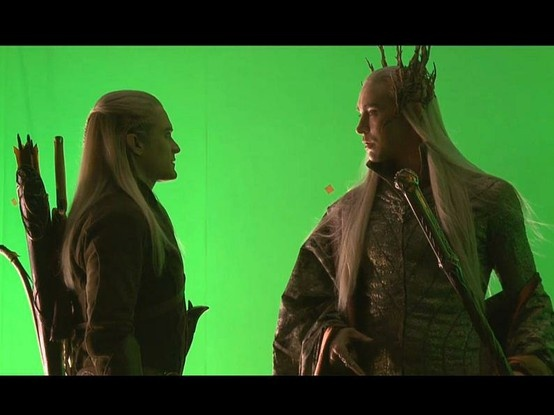 Legolas and his dad | Movies and movie stars! | Pinterest