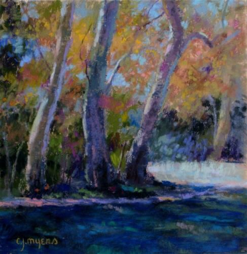 autumn in sedona original fine art for sale c j