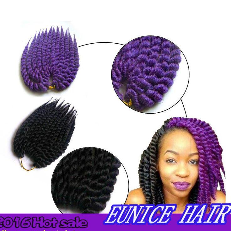 Havana Mambo Twist Crochet 24inch 120g Havana Mambo Braiding Twist Hair, Synthetic Kanekalon Havana Mambo Twist Hair For Women