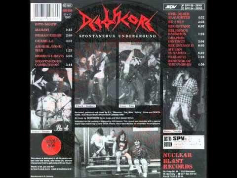 DEATHCORE - Spontaneous Underground ◾ (album 1990, German death metal/hardcore)