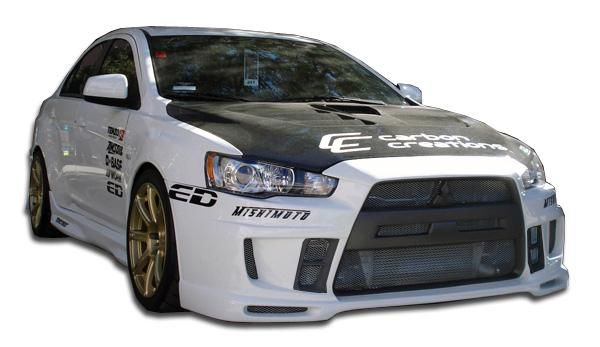 2008-2013 Mitsubishi Lancer Evolution 10 Duraflex GT Concept Body Kit - 4 Piece
