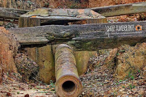 WW2 Canon at Markoni
