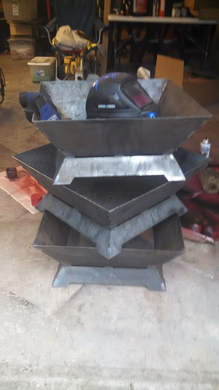 Building some Square fire pits.  Made from heavy duty steel- completely customization- add names, logos or any other design to the side.