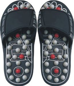 Health King Massage Accupressure Foot Slipper Medium Size fits Men (6-8)/ Women (8-10)  Price: $19.00