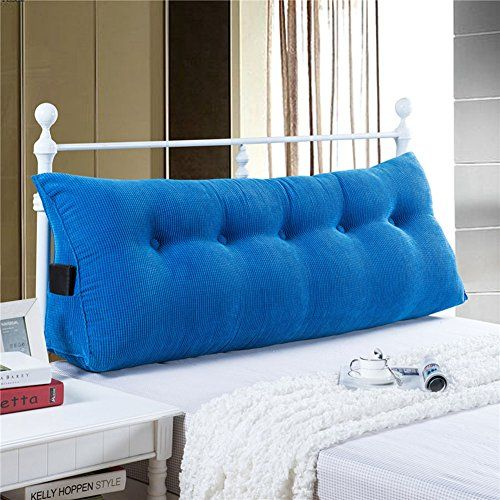 [Day Bed Ideas] Vercart Sofa Bed Large Filled Triangular Wedge Cushion Bed Backrest Positioning Support Pillow Reading Pillow for Daybed Office Lumbar Pad with Removable Cover Royalblue Twin >>> Be sure to check out this helpful article. #DayBed