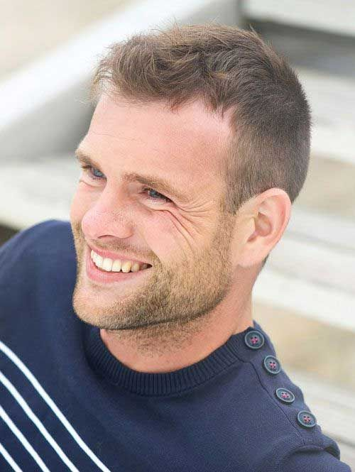 Cool 30 Best Thinning Hair Hairstyles for Men 2016
