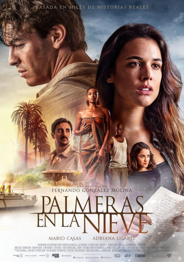 """Palm Trees in the Snow"" (aka ""Palmeras En La Nieve): My favorite lines: Killian (Played by Mario Casas): ""What is that song about? The one you were singing by the river."" Bisila (Played by Berta Vázquez): ""About springs that emerge from the earth unexpectedly to become rivers. About streams that split to rejoin again. About the sea that, in the end, welcomes us all. It talks about life's path. About destiny. Killian: ""Why were you crying, then?"" Basila: ""Well...Because I couldn't choose…"