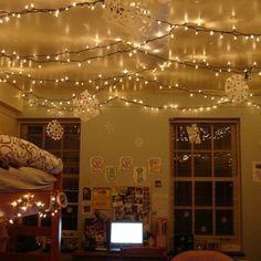 Christmas Lights In Bedroom Cool Best 25 Christmas Lights In Bedroom Ideas On Pinterest Decorating Design