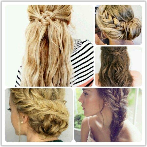 Variációk fonásra #hair #beauty #braid