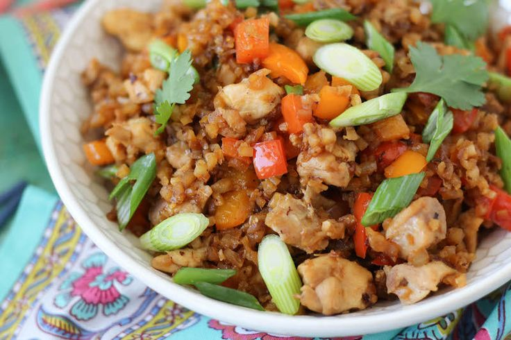My Spin on Chicken Fried Rice |