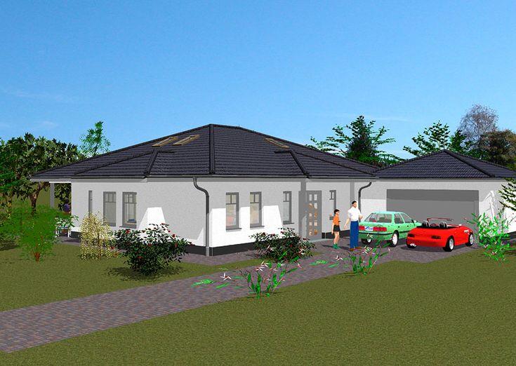 Bungalow K 95 Ytong Massivhaus bauen Bungalow, House