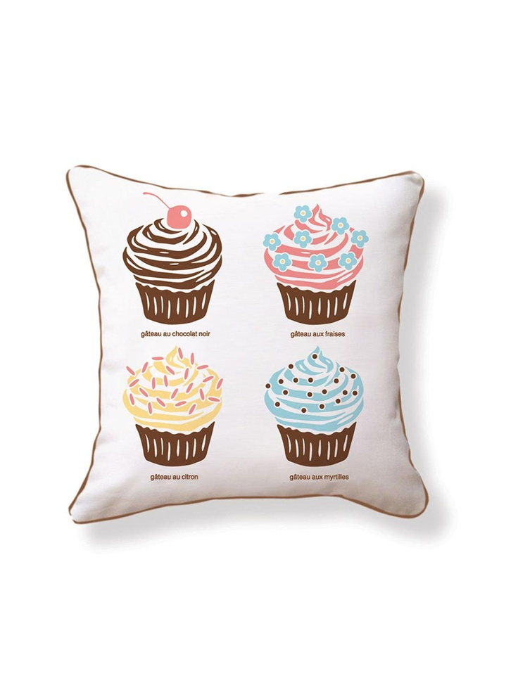 Naked Decor - Hello, Cupcake Pillow | VAULT