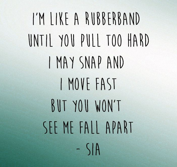 "Sia - ""Elastic Heart"" song lyrics"