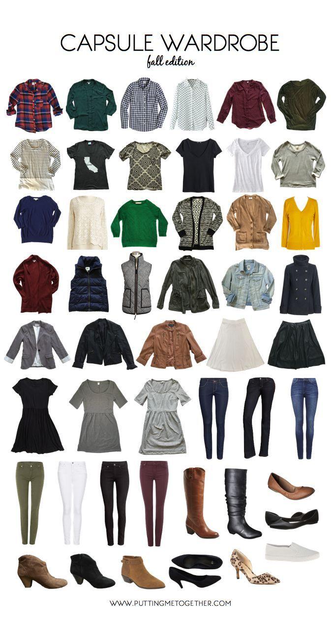 17 Best Ideas About Fall Capsule Wardrobe On Pinterest