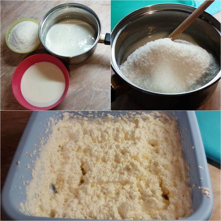 Kókuszkrém tortába - Tortareceptek.hu
