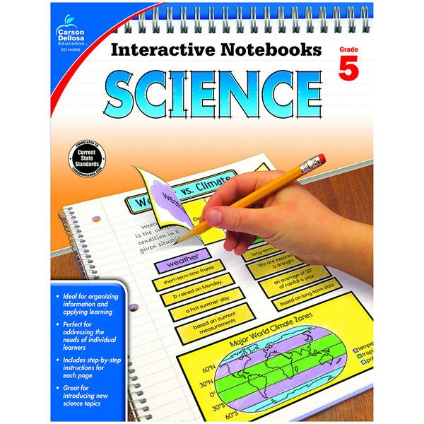 Interactive Notebooks: Science for grade 5 is a fun way to teach and reinforce effective note taking for students. Students become a part of the learning proces