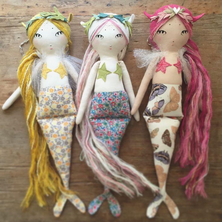 A personal favorite from my Etsy shop https://www.etsy.com/listing/235180491/dreposit-custom-mountain-mermaid-doll