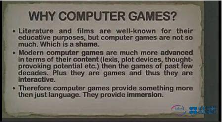 IATEFL Harrogate Online: Mykhailo Noshchenko (Computer Games)   blog-efl via @Graham Stanley