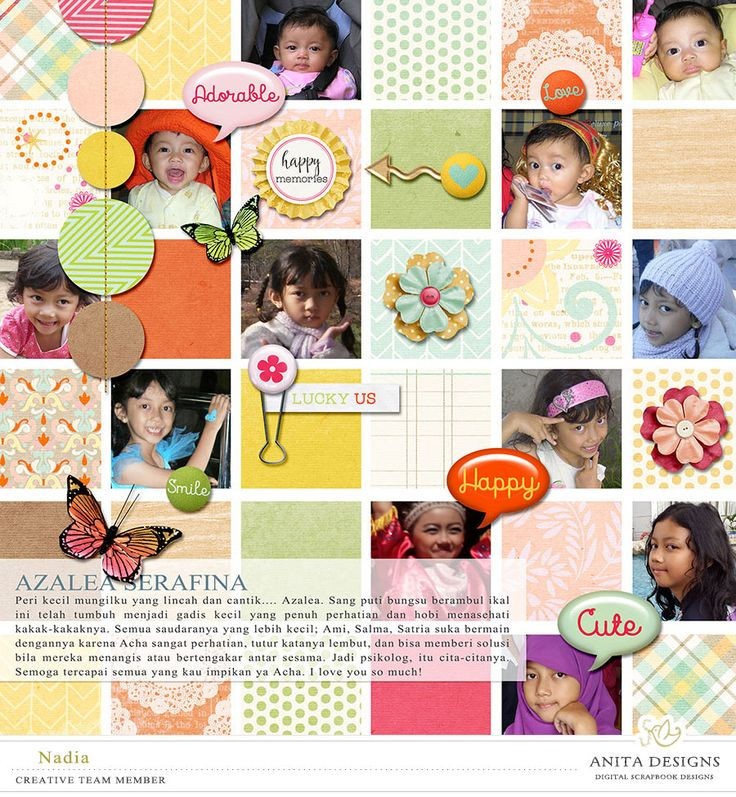 Serendipity by Anita Designs. A story captured vol.10 by Anita Designs.