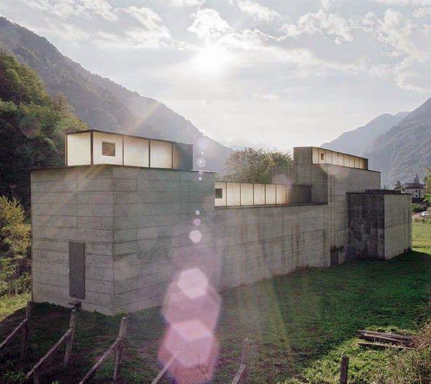 La Congiunta Museum Giornico, Switzerland. 1992 Architect: Peter Märkli