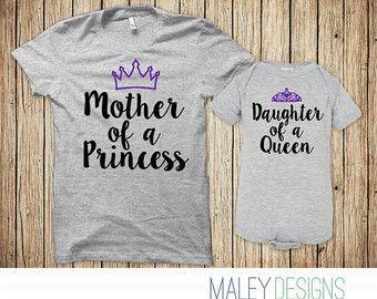 Bijpassende moeder-dochter Outfits moeder en Baby door MaleyDesigns