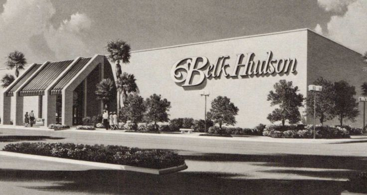 Belk Hudson in the Palatka Mall - 1981.  This location is now home to Goody's, VA Administration and Shoe City in the mall (2014).