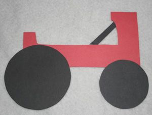 """Toddler/Preschool """"T"""" is for Tractor Craft"""
