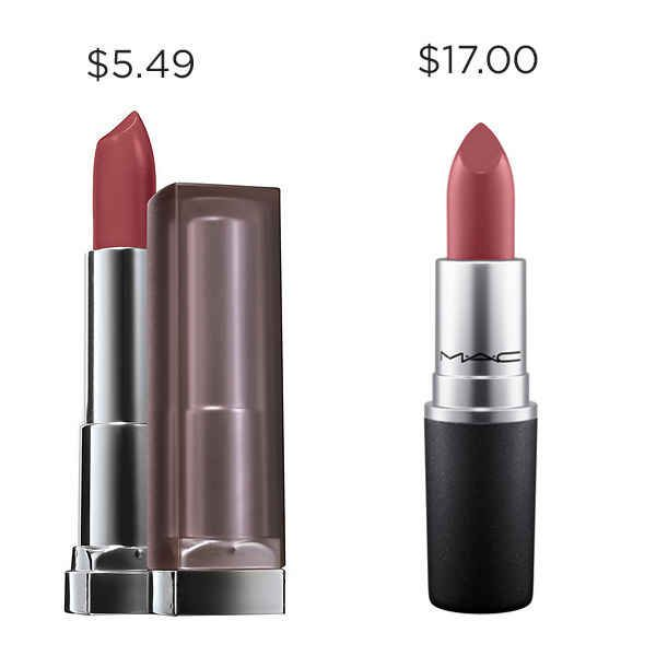 "When that ""available balance"" starts trippin', save $11.51 with Maybelline Touch of Spice instead of MAC So Select."