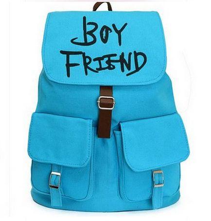 Kpop  Boyfriend  multifunctional  schoolbag