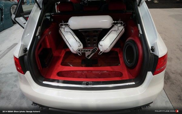 SEMA 2014: Air REX Audi A4 Avant - Fourtitude.com