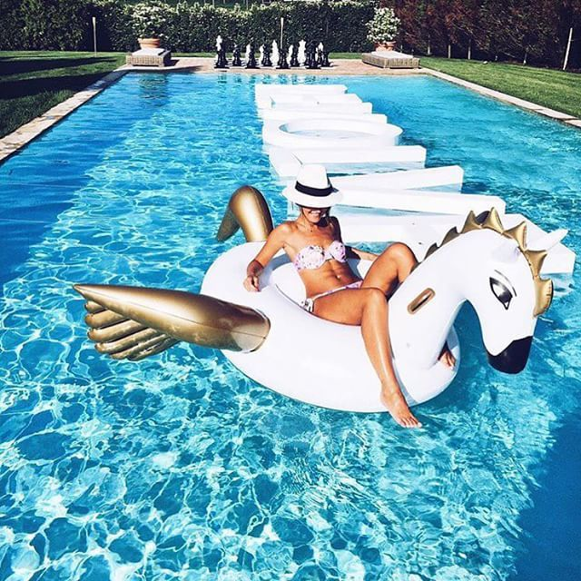 Revolve in the Hamptons floats